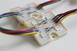 Светодиодный модуль RGB 4LED SMD5050 IP 65