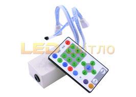 """RGB Контроллер с ИК пультом для светодиодной ленты """"Бегущая волна"""" 54LED/m"""