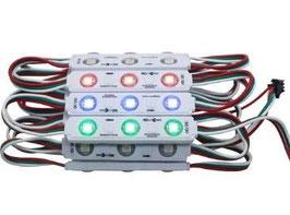 Светодиодный модуль Smart RGB 3LED SMD5050 IP67 WS1903