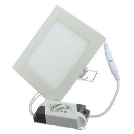 Светильник светодиодный встраиваемый 24Вт Квадратный