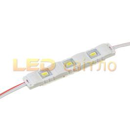 Светодиодный модуль SMD5730 3LED 1Вт IP67
