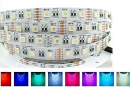 Светодиодная лента RGBW SMD5050 60 диодов на метр IP20(без силикона)