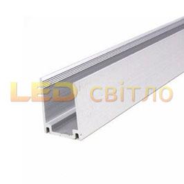Алюминиевый профиль для неона 8*16мм 1м