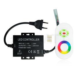 Контроллер для светодиодной ленты RGB 220В с сенсорным радио пультом