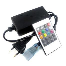 Контроллер для RGB неона 220в с ИК пультом