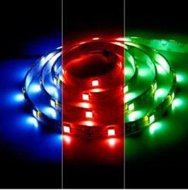 Светодиодная лента RGB SMD5050 30 диодов на метр IP20(без силикона)