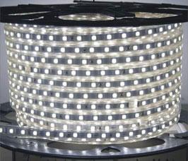 Светодиодная лента 220В SMD 5050 60 диодов на метр IP67