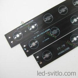 Подложка для 9-и светодиодов мощностью 1-5Вт