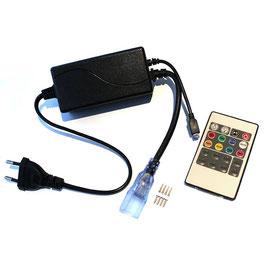 Контроллер для светодиодной ленты RGB 220В с ИК пультом