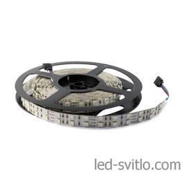 Светодиодная лента RGB SMD 5050 120 диодов на метр 2 ряда IP20(без силикона)