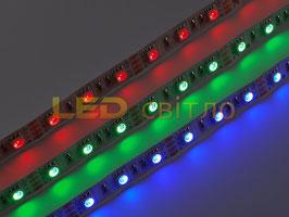 Светодиодная лента RGB SMD 5050 60led/m IP20(без силикона) Премиум 3года гарантии