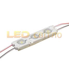 Светодиодный модуль SMD5730 3LED 1,5Вт IP67