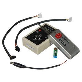 """RGB Контроллер 12А с радио пультом для светодиодной ленты """"Бегущая волна"""""""