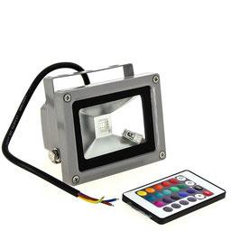 Прожектор RGB 10Вт