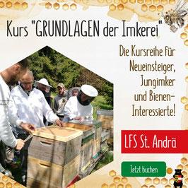 "Kurs 18781: ""Grundlagen der Imkerei"" an der LFS St. Andrä"