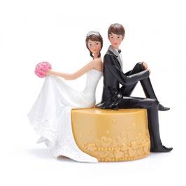 Couple sur Pouf