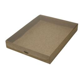 Display Geschenkbox Dolcezza natur glatt - 25x19x3,5 cm