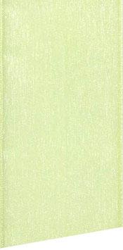 Organzaband hellgrün 25mm  - 5 Meter