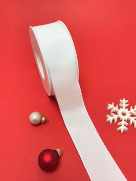 Uniband weiß Draht 40mm - 5 Meter