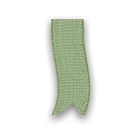Baumwollband grün 25mm - 5 Meter