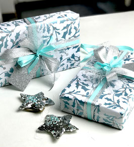 Geschenkpapier Scandic Holly - 2 Bögen