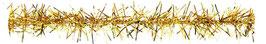 Fransenkordel mit Drahteinlage gold - 2 Meter