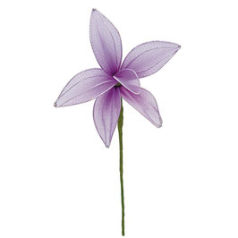Organza Lilie lila