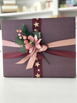 Geschenkverpackungs-Set für 3 Weinflaschen