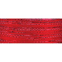 Ziehschleifen Band schillernd rot - 3 Meter