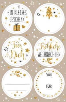 """Aufkleber """"Kleines Geschenk"""""""