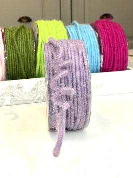 Dochtfaden violett dünn mit Draht - 5 Meter