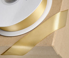 Satinband gold 10mm - 5 Meter