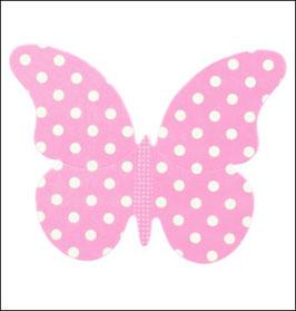 Schmetterlinge aus gemustertem Karton - 8 St.