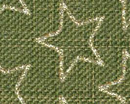 Motivband Sterne grün 25mm- 5 Meter