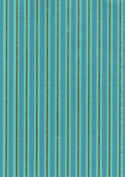 "Geschenkpapier ""Duo Stripe Blue"" - 3 Bögen"