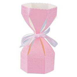 Saccolo Geschenkschachtel rosa, 10 Stück