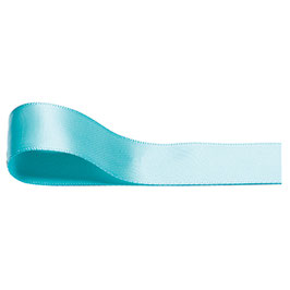Satinband aqua 10mm - 5 Meter