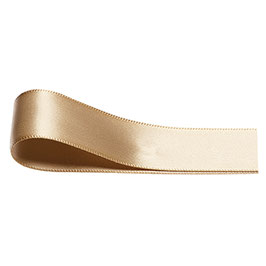 Satinband gold 3 mm - 25 Meter