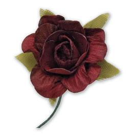 12 Papier Rosen rot