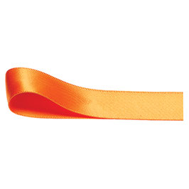 Satinband orange 10mm - 5 Meter