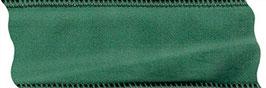 Samtband tannengrün mit Draht - 2 Meter