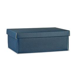 Geschenkbox mit Deckel Spot Blue - 38x26x13 cm