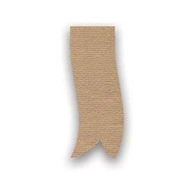 Geschenkband aus recycelbarem Papier 40mm gold - 50 Meter