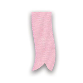 Baumwollband rosa 10mm - 5 Meter