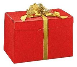 Geschenkbox Segreto groß rot - 2. Wahl