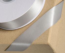 Satinband silber 23mm - 5 Meter
