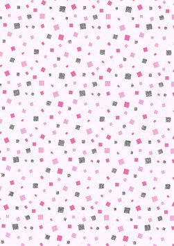 Geschenkpapier Confetti Pink - 2 Bögen