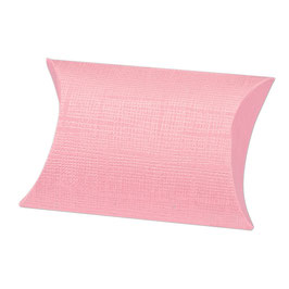Pillow Box rosa klein, 10 Stück - 7x7x2,5 cm