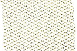 Gitterband gold - 2 Meter