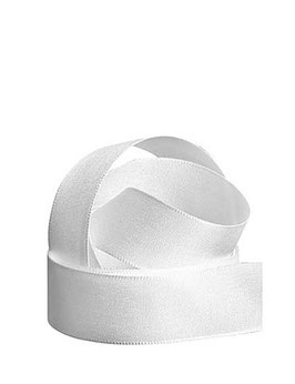 Uniband weiß 25mm, 5 Meter